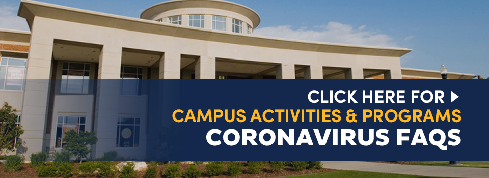 CAP, Campus Activities & Programs, Coronavirus